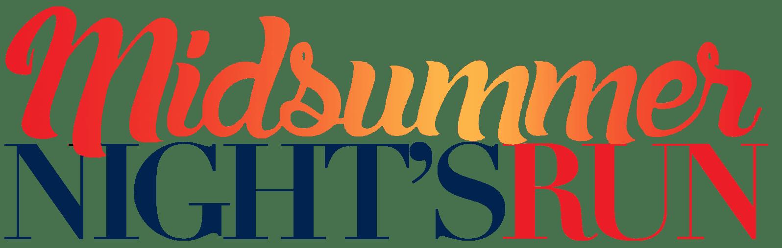 Midsummer Night's Run logo